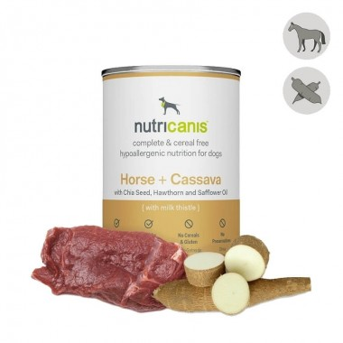 Pferd + Cassava (Maniok)